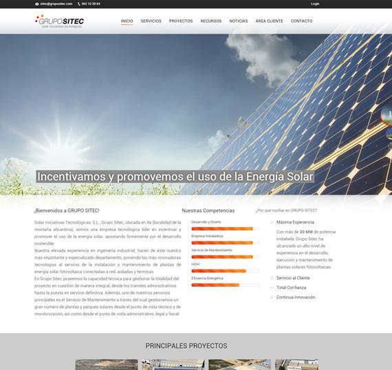 diseño web alicante empresas