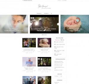 Diseño de web blog Alicante